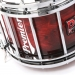 HTS 800 Pipe Band Snare Drum with Diamond Chrome in Autumn Cherry Lacquer (b) - ACL-C