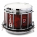 HTS 800 Pipe Band Snare Drum with Diamond Chrome in Autumn Cherry Lacquer (a) - ACL-C