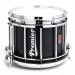 HTS 800 Pipe Band Snare Drum with Diamond Chrome in Ebony Oil - EBO-C