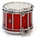 HTS 800 Pipe Band Snare Drum with Diamond Chrome in Flame Red Lacquer (a) - RC-C