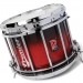HTS800 Pipe Band Snare Drum with Diamond Chrome in Ruby Sparkle Burst Lacquer (b) - RXBB-C