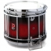 HTS 800 Pipe Band Snare Drum with Diamond Chrome in Ruby Sparkle Burst Lacquer (a) - RXBB-C
