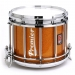 HTS 800 Pipe Band Snare Drum with Diamond Chrome in Topaz Sparkle Lacquer (a) - TX-C