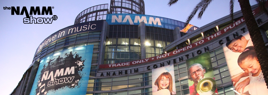 Premier to attend the NAMM Show 2013