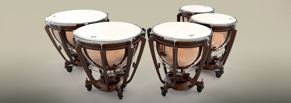New pedal timpani unveiled